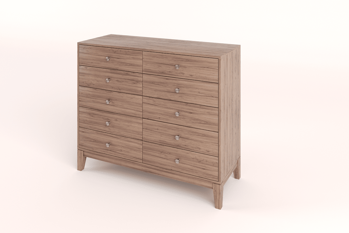 Bedroom Furniture Chest of 10 Drawers Cabinets and Servers