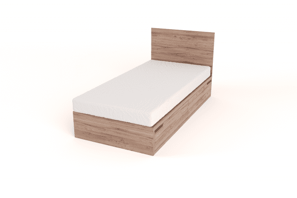 drawer bed single