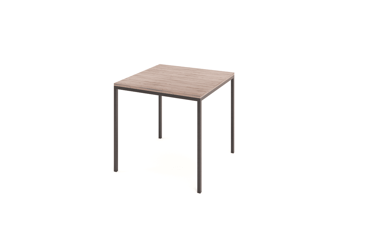 Steel Classic Café Table 800×800 Dining Tables
