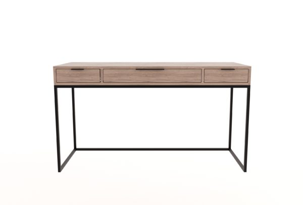 Steel Desk with Drawers