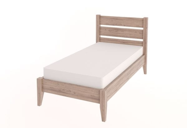 Single Tapered Bed