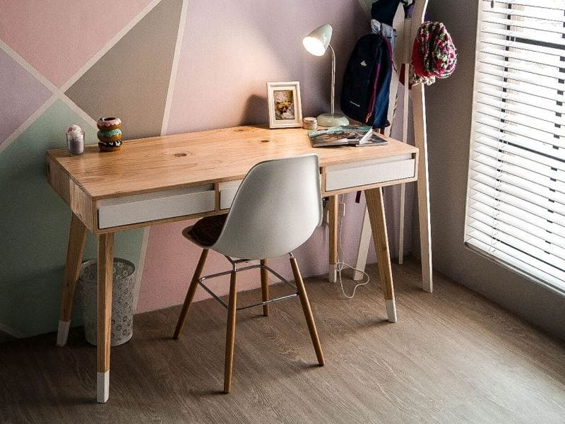 Contemporary Wooden Desk