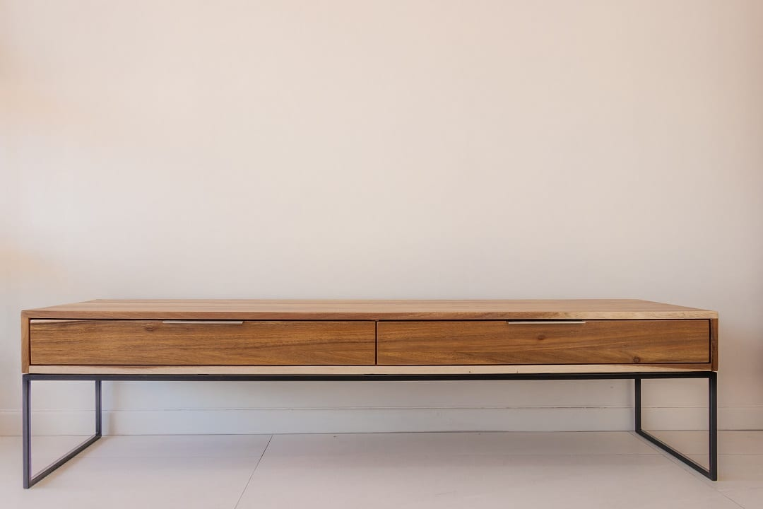 steel tv unit - pic1