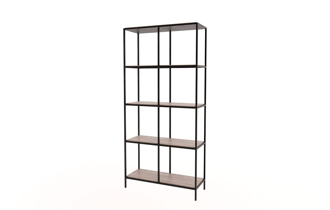 8 Cubicle Steel Shelf