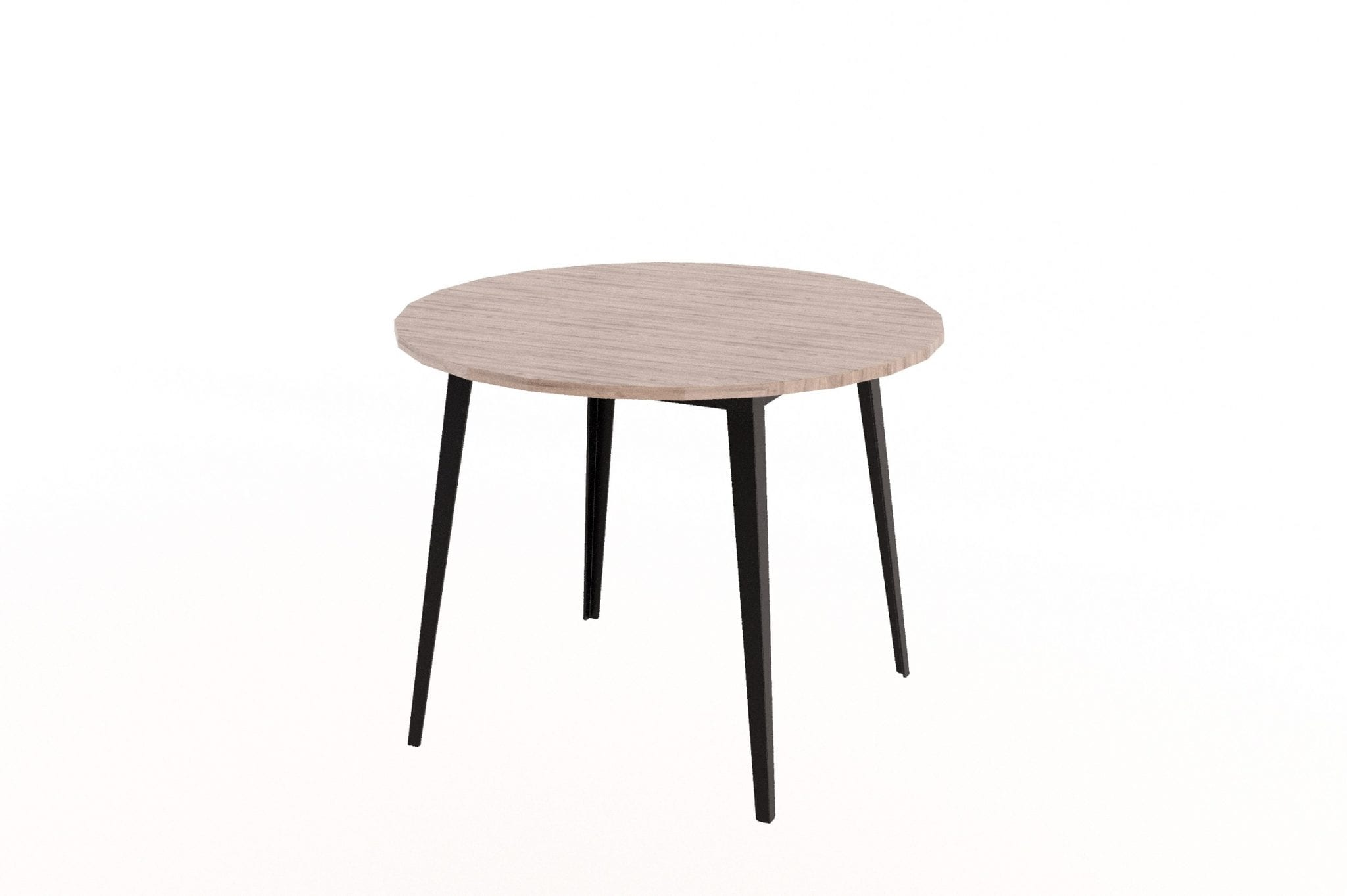 Holly Table on Steel Base