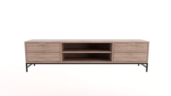 TV Unit with 4 Drawers