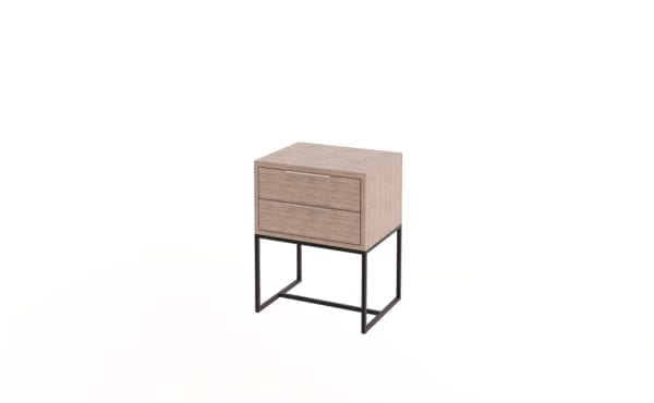 Steel Pedestal with 2 Drawers