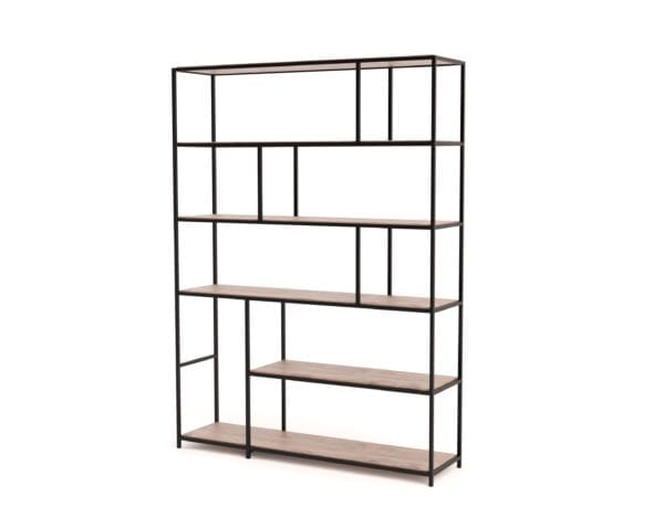 Large Steel Contemporary Shelf
