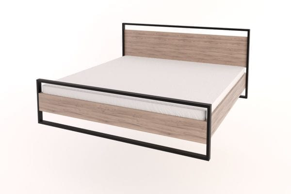 Steel Bed King Size