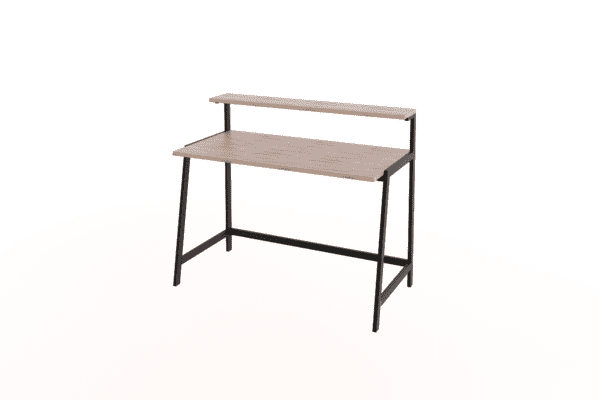 steel frame desk study