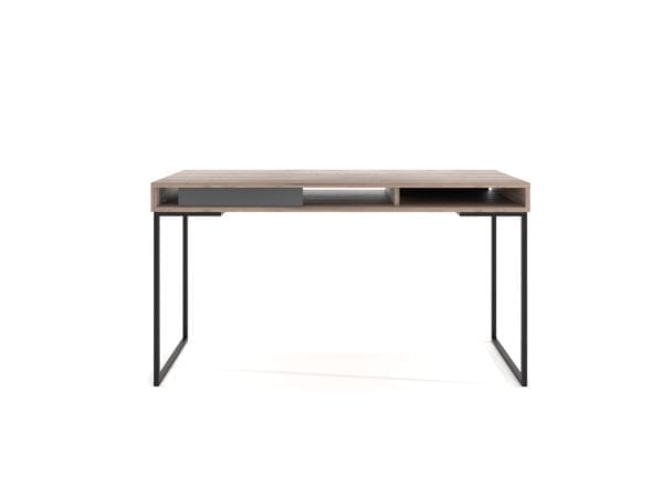 steel frame desk